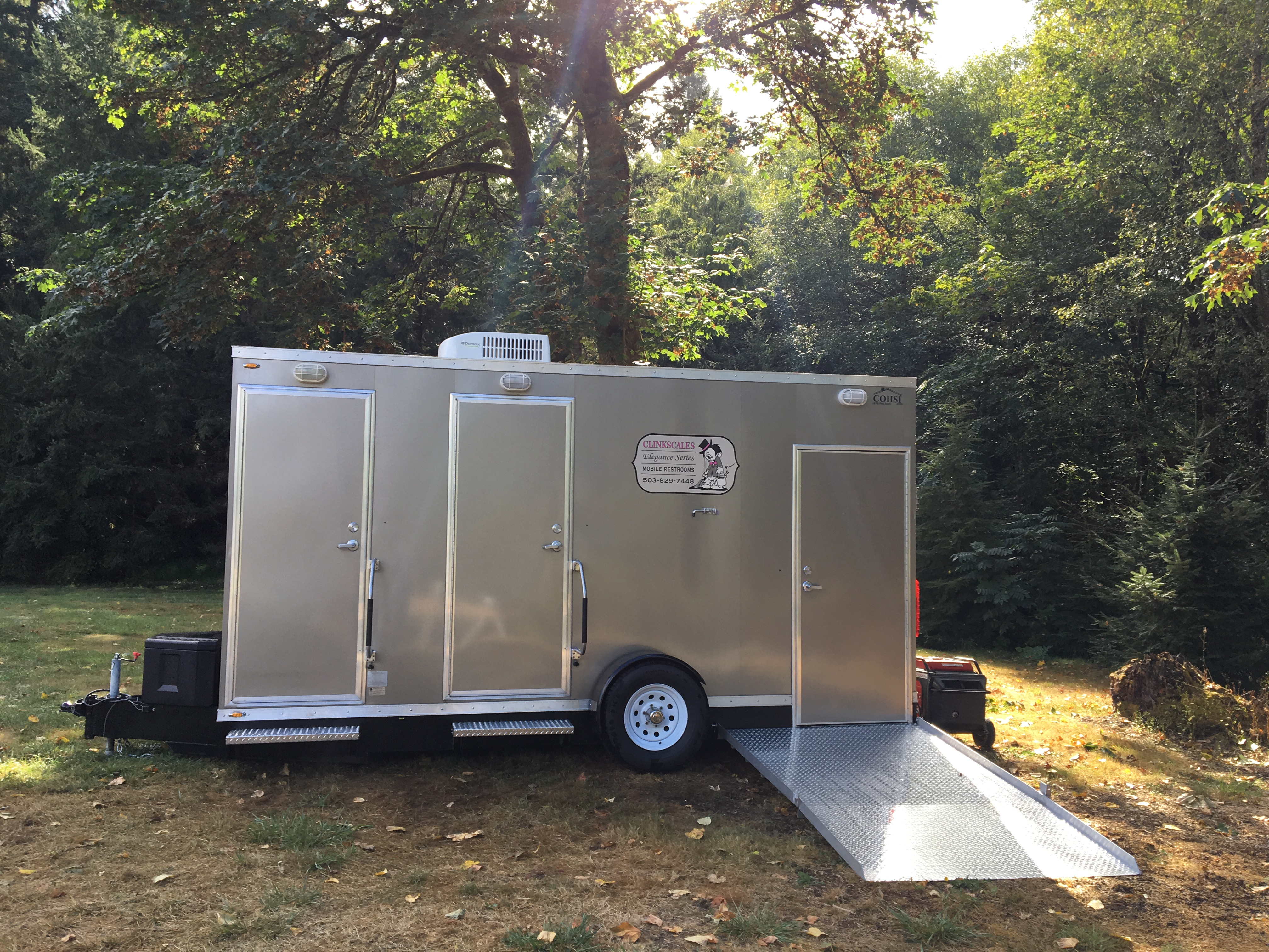 trailers a wedding location events rocket vip services luxury event special exterior restroom trailer portable bathroom wide on and